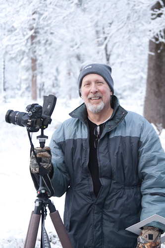 Jim in Yosemite National Park on February 12, 2009. Photo by Walter Ezell.